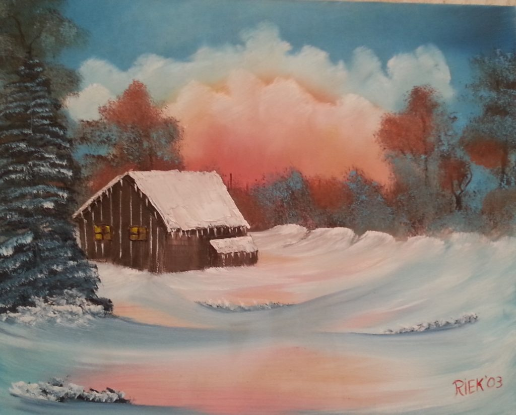 De Workshopsite - Bob Ross schilder