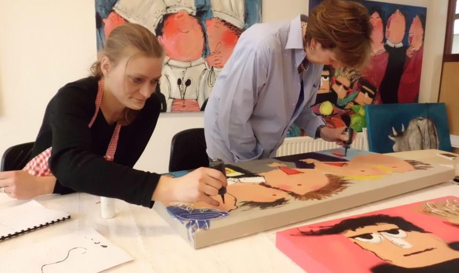 De Workshopsite - De Leukste Schilderworkshop