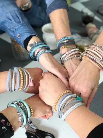 De Workshopsite - Wikkelarmbanden maken
