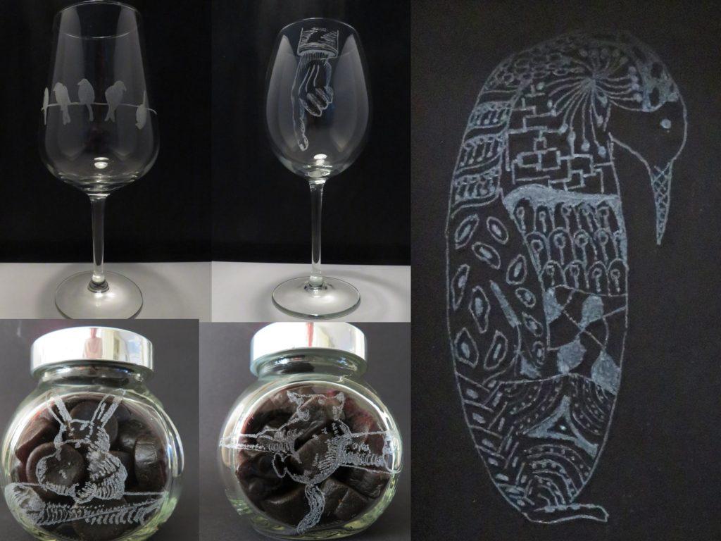 De Workshopsite - worshop glas graveren