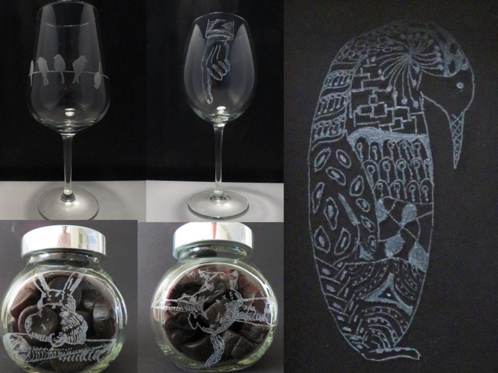 De Workshopsite - glas graveren