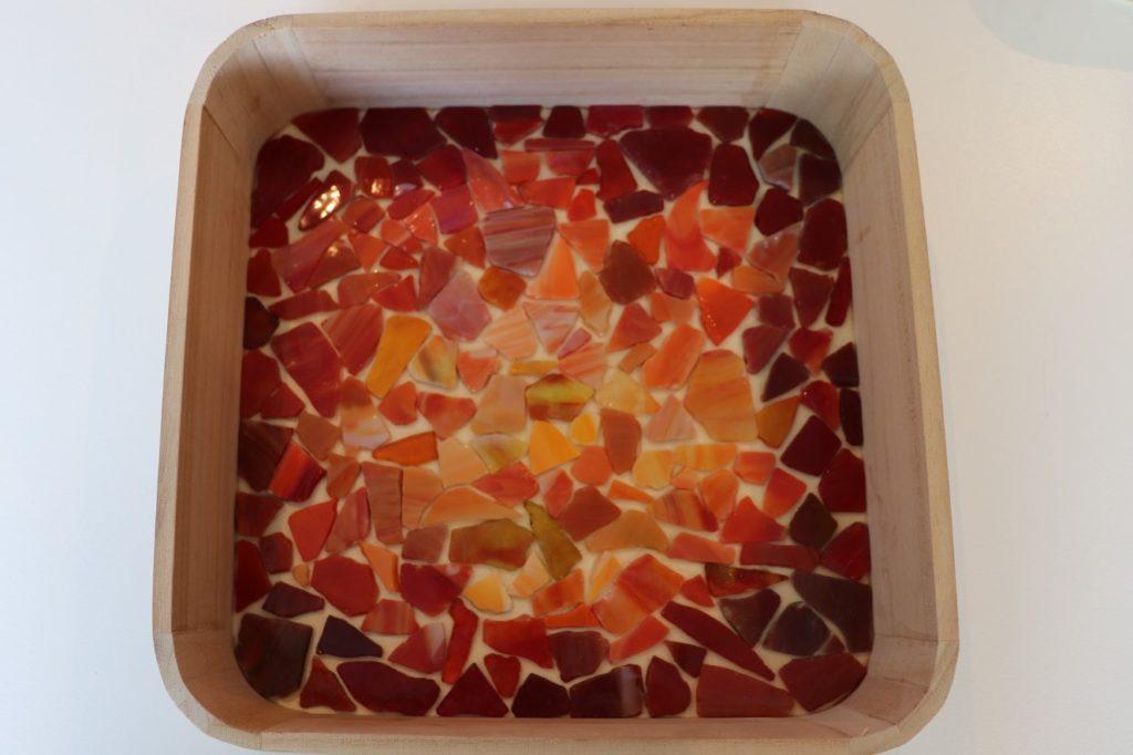 De Workshopsite - Dienblad mozaieken
