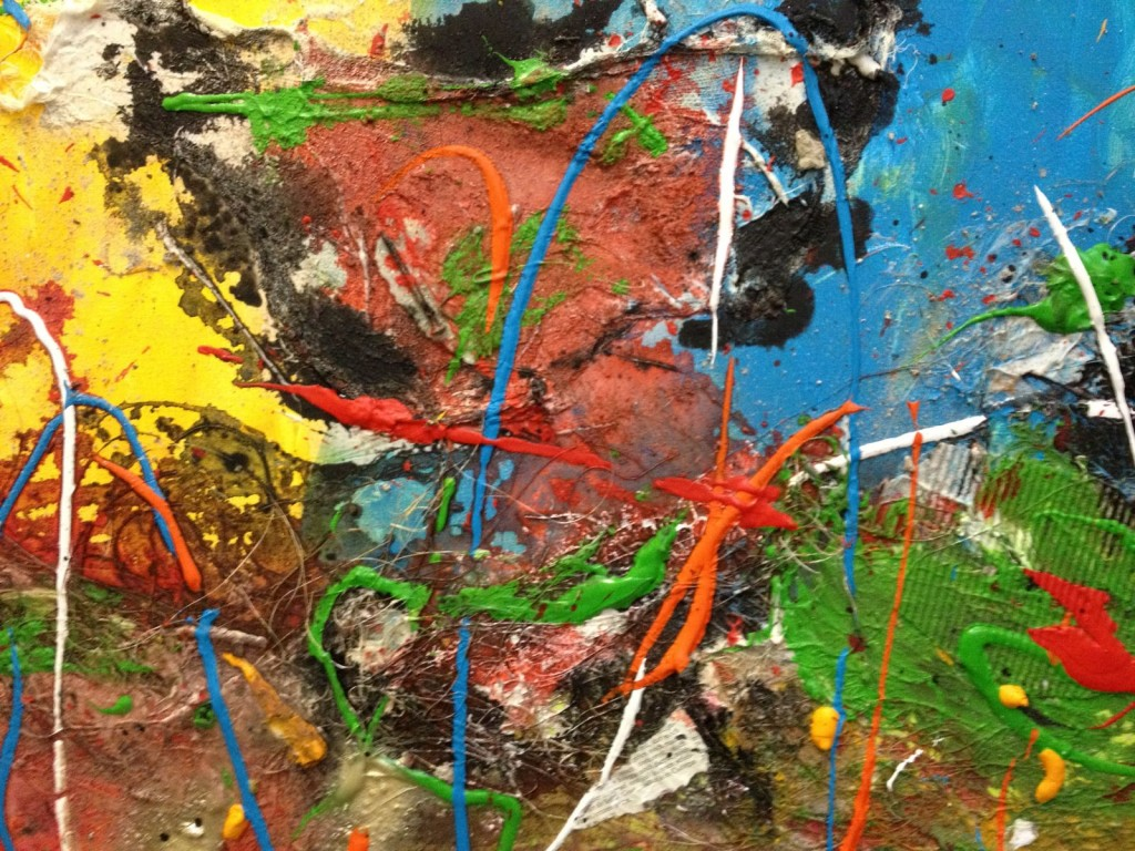 De Workshopsite - Action painting