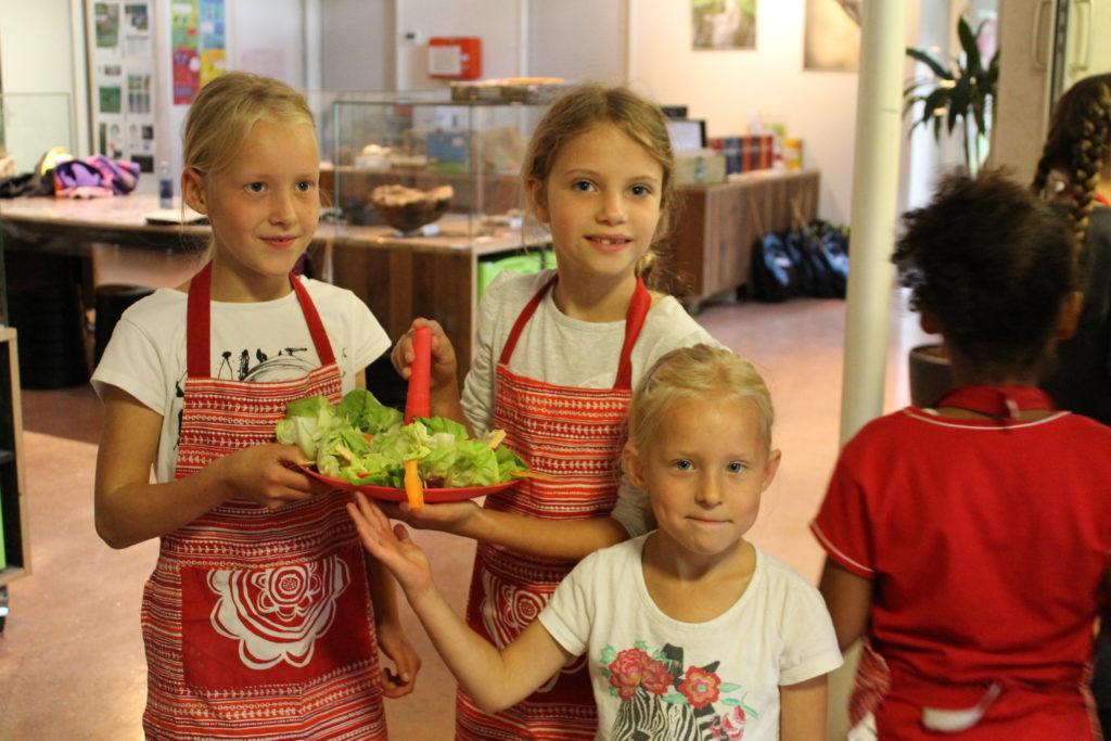 De Workshopsite - Koken met kinderen
