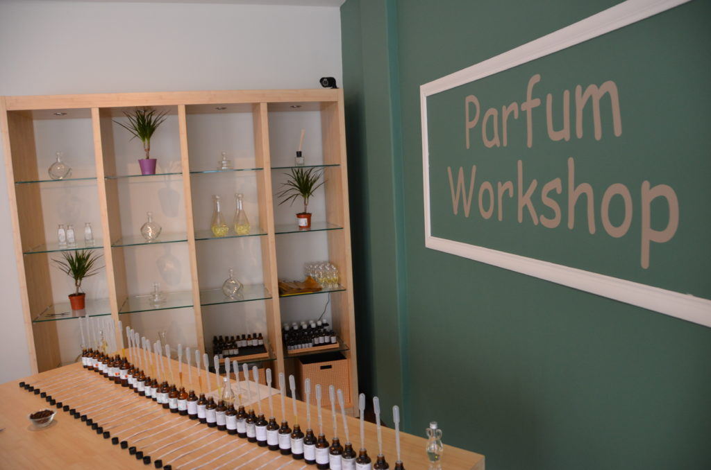 De Workshopsite - Parfum Workshop