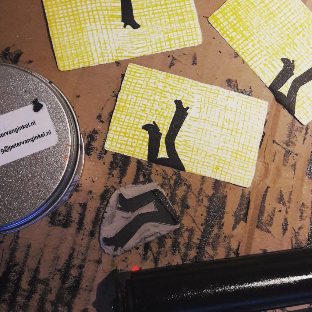 De Workshopsite - Linoleum-snijden en -drukken