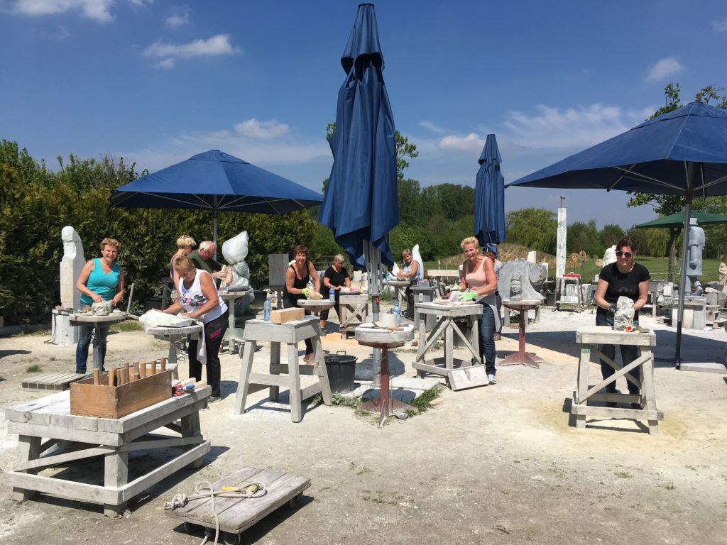 De Workshopsite - Workshop beeldhouwen
